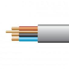 1.0mm 6243YH 3 Core & Earth PVC Cable Grey (Per Metre)