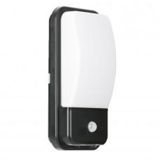Aurora Utilitex™ 10W PIR IP65 LED Security Bulkhead Black