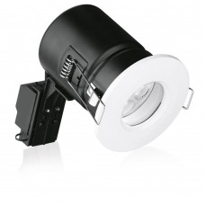 Aurora Enlite GU10 IP65 Aluminium Fire Rated Downlight White