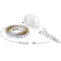 Aurora Enlite LEDline 5M 12V Single Colour Cuttable LED Strip Kit 4000K