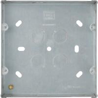 BG HGS68-01 Metal Back Box 6 + 8 Gang Grid 47mm