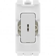 BG R12KY Grid Key Switch 2 Way SP 20AX White
