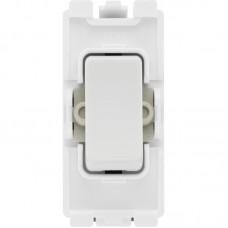 BG R12 Grid Switch 2 Way SP 20AX White