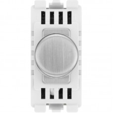 BG RBSDTR Dimmer Switch Trailing Edge Brushed Steel