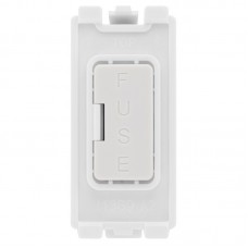 BG RFUSE Grid Fused Outlet White