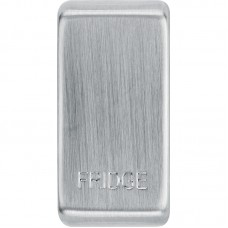BG RRFDBS-01 Grid Rocker Fridge Brushed Steel