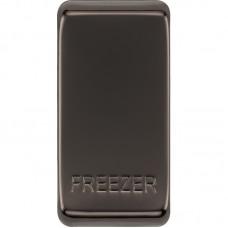 BG RRFZBN-01 Grid Rocker Freezer Black Nickel