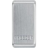 BG RRFZBS-01 Grid Rocker Freezer Brushed Steel