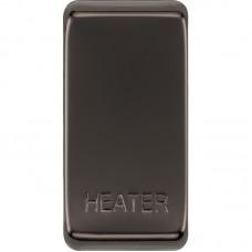 BG RRHTBN-01 Grid Rocker Heater Black Nickel
