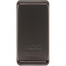 BG RRMWBN-01 Grid Rocker Microwave Black Nickel