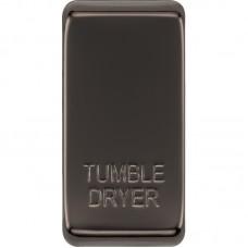 BG RRTDBN-01 Grid Rocker Tumble Dryer Black Nickel