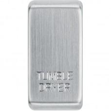 BG RRTDBS-01 Grid Rocker Tumble Dryer Brushed Steel