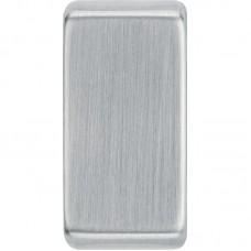 BG RRUPBS-01 Grid Rocker Plain Brushed Steel