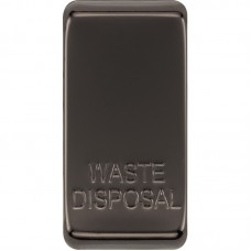 BG RRWDISBN-01 Grid Rocker Waste Disposal Black Nickel