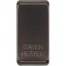 BG RRWHBN-01 Grid Rocker Water Heater Black Nickel