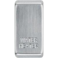 BG RRWHBS-01 Grid Rocker Water Heater Brushed Steel