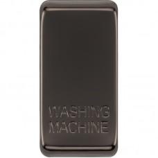 BG RRWMBN-01 Grid Rocker Washing Machine Black Nickel