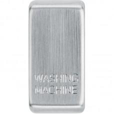 BG RRWMBS-01 Grid Rocker Washing Machine Brushed Steel