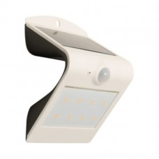 Luceco Solar Guardian Outdoor Wall Light White 1.5w LEXS30