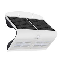 Luceco Solar Guardian Outdoor Wall Light White 6.8w LEXS80