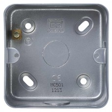BG Nexus Metal Clad Single Mounting Box - MC501