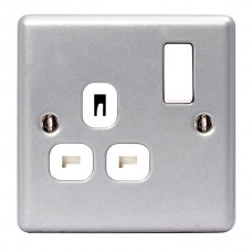 BG Nexus Metal Clad Single Socket - MC521