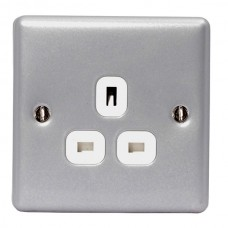 BG Nexus Metal Clad Unswitched Single Socket - MC523