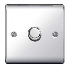 BG Nexus Polished Chrome Single Dimmer Switch - NPC81P