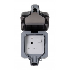 BG Nexus Storm Weatherproof Single Socket - WP21