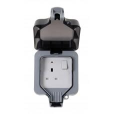 BG Nexus Storm Weatherproof Single Socket - WP21