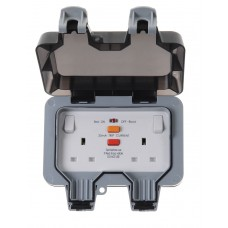 BG Nexus Storm Weatherproof Double Socket RCD - WP22RCD