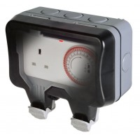 BG Nexus Storm Weatherproof Timer Controlled Socket - WP23TM24