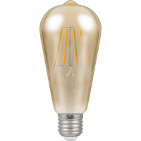 Crompton Filament Dimmable Antique LED ST64 5W ES-E27