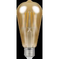 Crompton Filament Dimmable Antique LED ST64 5W ES-E27