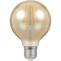 Crompton Filament Dimmable Antique LED G80 5W ES-E27