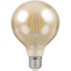 Crompton Filament Dimmable Antique LED G95 5W ES-E27