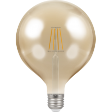 Crompton Filament Dimmable Antique LED G125 7.5W ES-E27