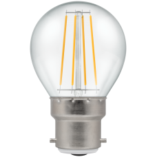 Crompton Filament LED Round 4W BC-B22d