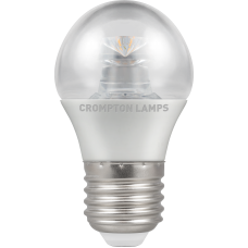 Crompton LED Dimmable Clear Round 6.5W ES-E27