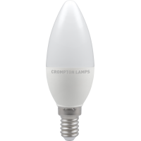 Crompton LED Thermal Plastic Candle 5.5W SES-E14