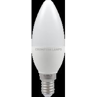 Crompton LED Thermal Plastic Candle 5.5W SES-E14