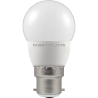 Crompton LED Thermal Plastic Round 5.5W BC-B22d