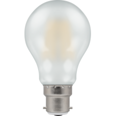 Crompton Filament Dimmable LED GLS 7.5W BC-B22d Pearl