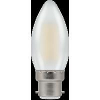 Crompton Filament LED Candle 4W BC-B22d Pearl