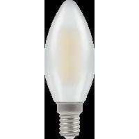 Crompton Filament LED Candle 4W SES-E14 Pearl