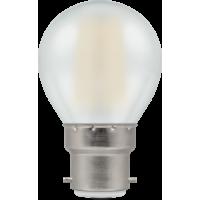 Crompton Filament LED Round 4W BC-B22d Pearl