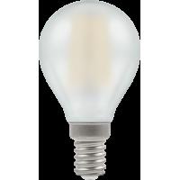 Crompton Filament LED Round 4W SES-E14 Pearl