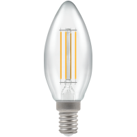 Crompton Filament Dimmable LED Candle 5W SES-E14