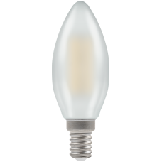 Crompton Filament Dimmable LED Candle 5W SES-E14 Pearl