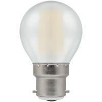 Crompton Filament Dimmable LED Round 5W BC-B22d Pearl